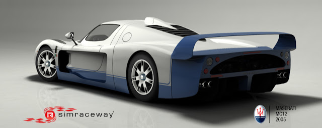 Maserati MC12 Simraceway rFactor