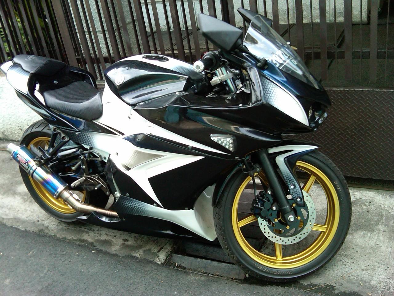 Modif Motor Yamaha Vixion New