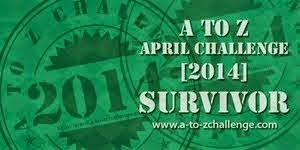 April A To Z 2014 Survivor