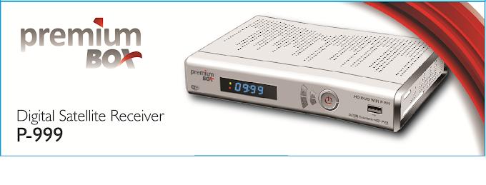 PREMIUMBOX P999 HD WIFI NOVA ATUALIZAÇÃO - V 1.24 - 10/12/2013