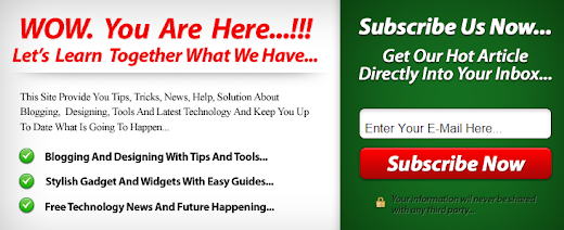 Membuat Email Subscribe Melayang di Blogspot