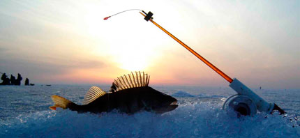 Рыбалка зимой на удочку