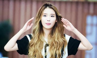 IU Lee Ji Eun Beautiful Cutie