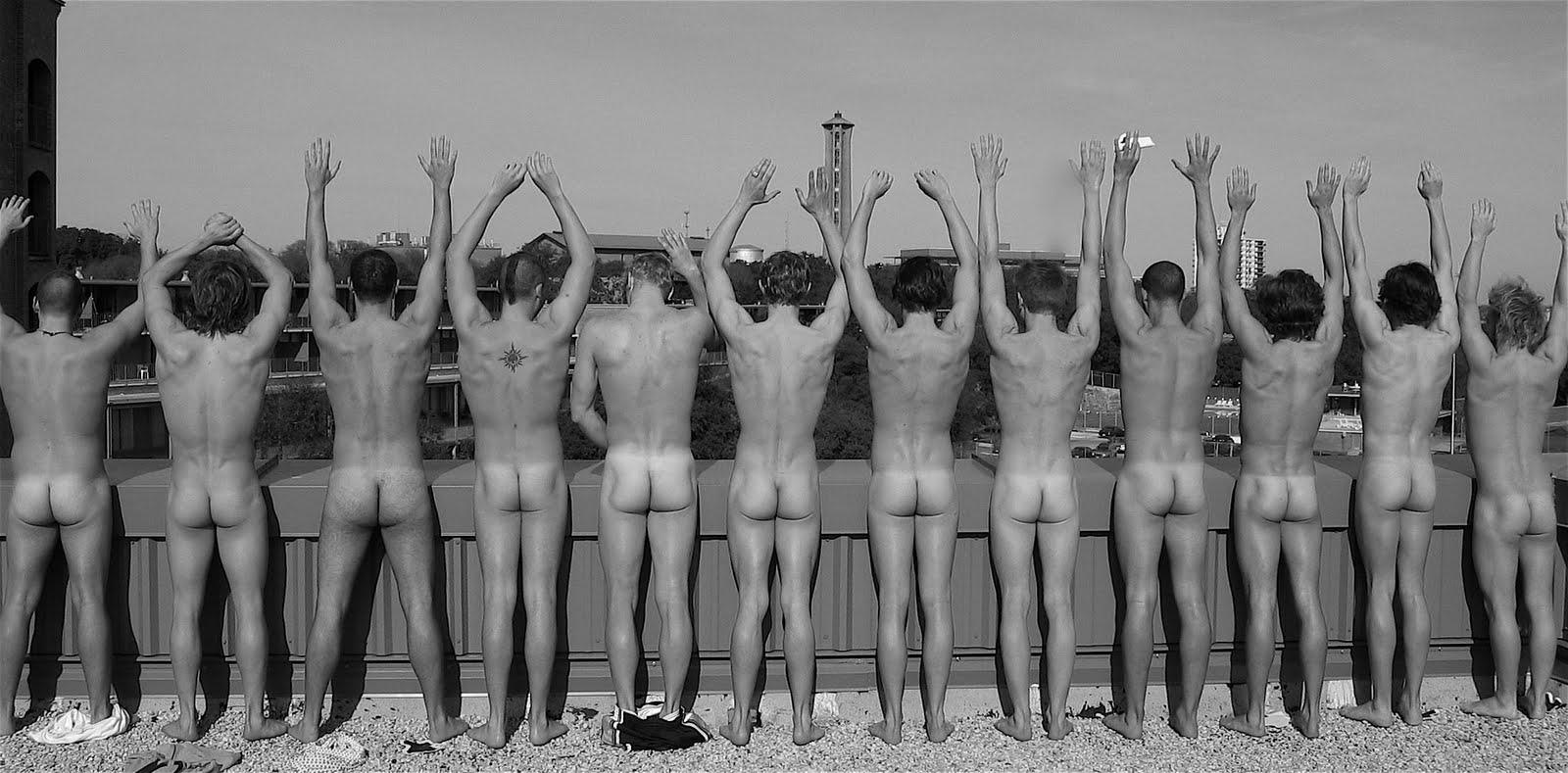 nude malw water polo