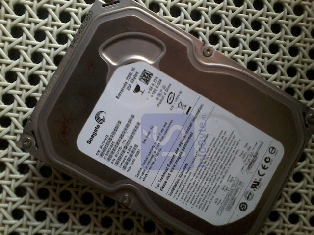 Old Internal Hard Disk Drive
