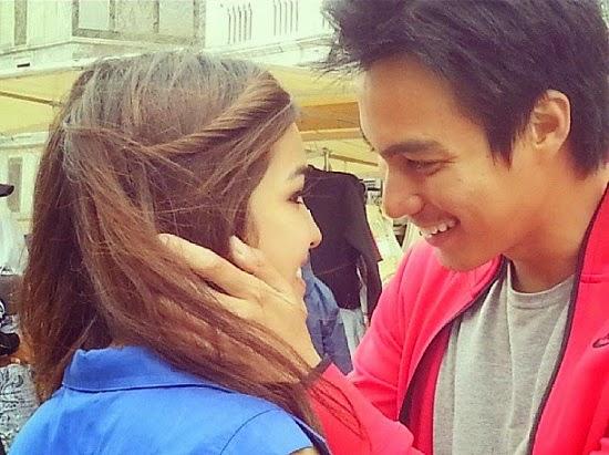 3 Foto paling romantik Elfira Loy dan Baim Wong kini sah bercinta