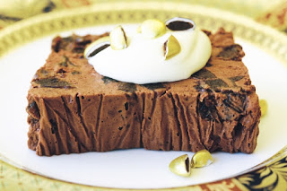 Chocolate and brandied prune terrine Recipe