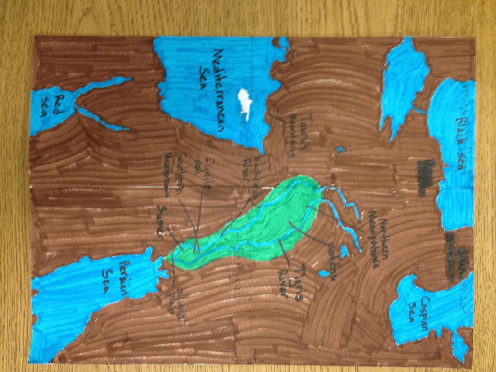 Ms. Spinrod's Class: 6th Grade Mesopotamia