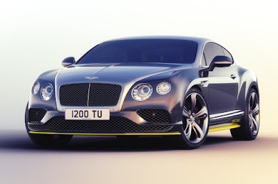 Bentley Continental GT Speed Breitling Jet Team Series (2015) Front Side