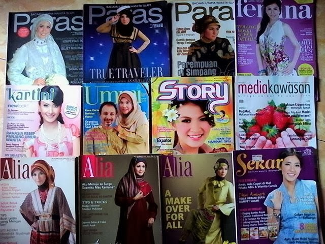 Tulisanku Di Berbagai Majalah Wanita