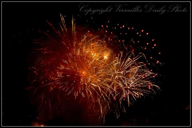 Bastille Day 2014 fireworks Versailles 14 juillet