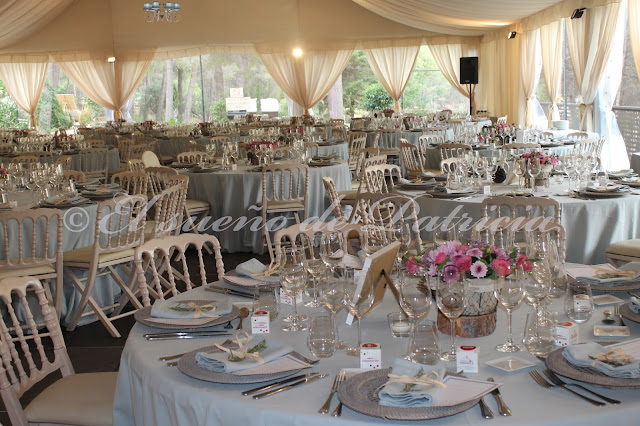 Una boda en casa una boda en el campo el sue o de for Decoracion bodas valencia