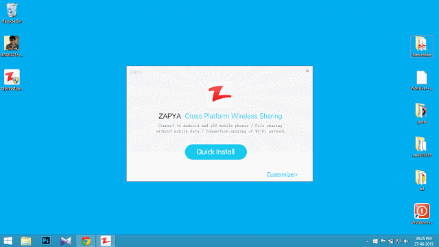 How to install zapya in your windows pc