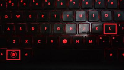 Cara Cepat Mengunci Desktop Komputer