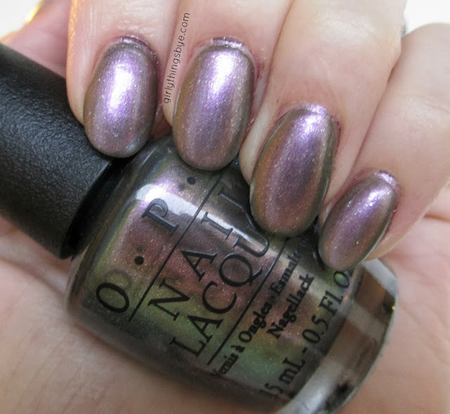 OPI C1106 $4 at Target, swatch, @girlythingsby_e