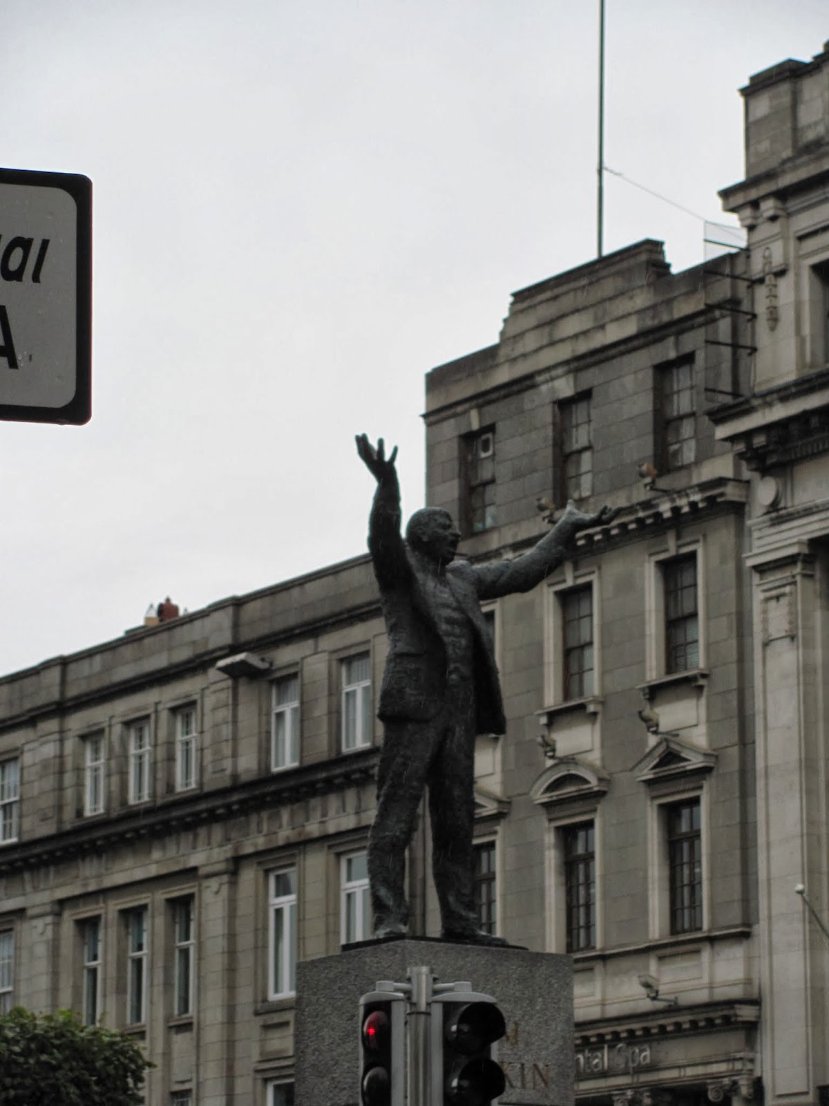 James Larkin monument, O'Connell Street, Dublin