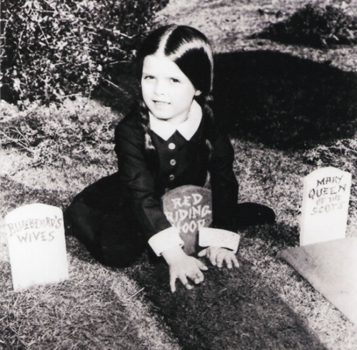 Dark Little Secrets Wednesday Addams