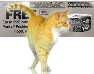 Free Friskies Cat Food Coupon
