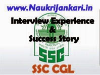 ssc cgl interview experience