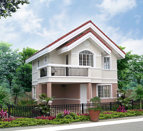 March 2012 erecre group realty design and construction for Philippine model house design