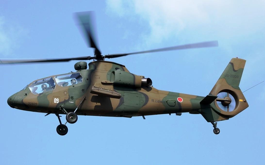 Helikopter tempur Kawasaki OH-1 Ninja - 3