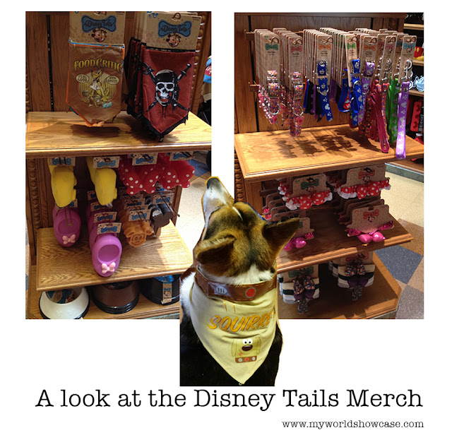 A look at the Disney Tails Merchandise