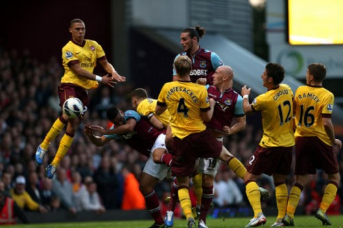 Match west ham vs arsenal 1-3