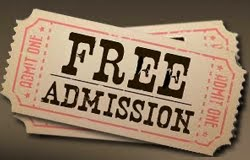 AUGUST 2015 - FREE MUSEUM ADMISSION, CLICK PHOTO BELOW FOR LIST AND PRINTABLE MUSEUM TICKETS