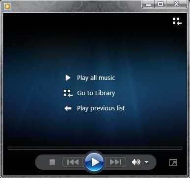 how to make windows media player default win 7