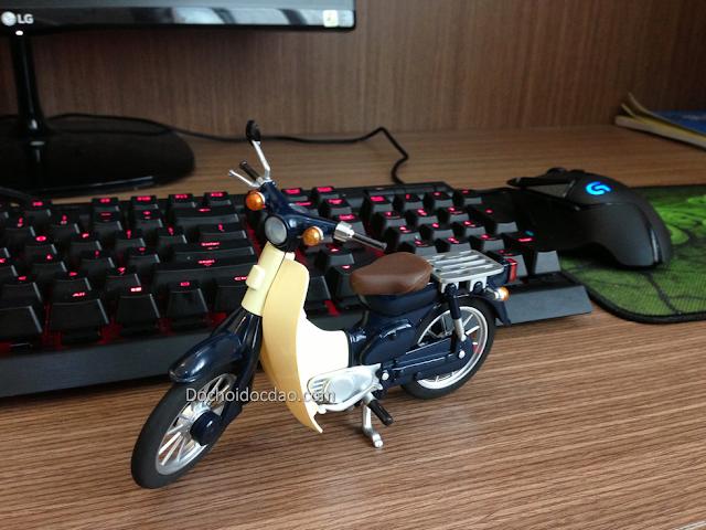 Mô Hình Xe Honda Cub 1