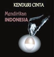 Mendirikan Indonesia - Kenduri Cinta 13 Juli 2012