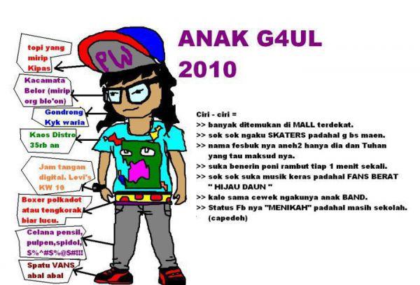 Nama Nama Gaul