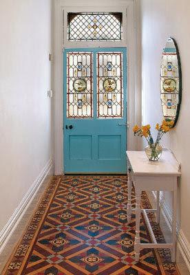 Inspire bohemia fantastic foyers for Front hall flooring ideas