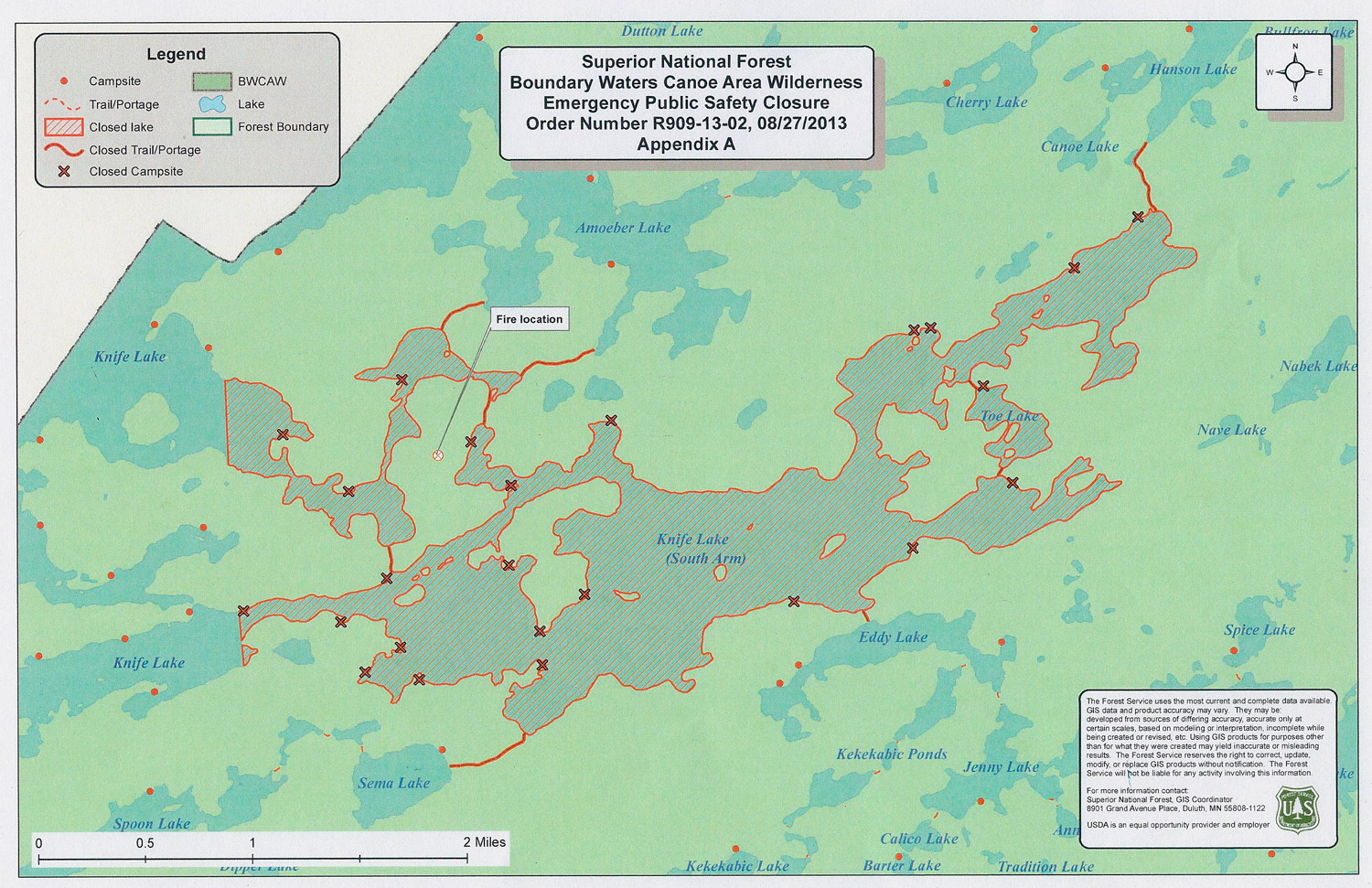 Piragis Northwoods Company Boundary Waters Blog: Fire in Boundary ...