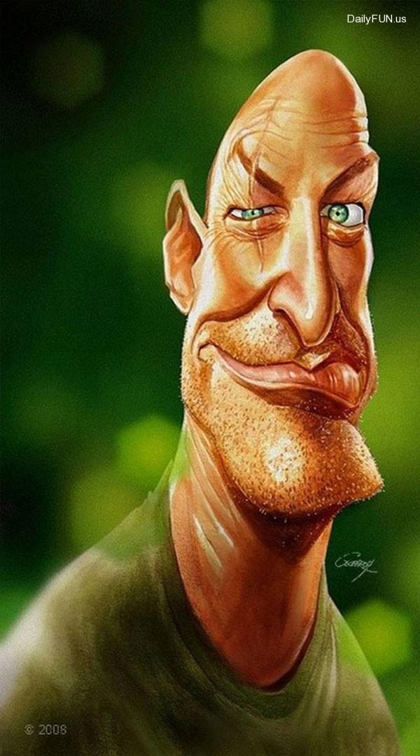 Caricaturas e Desenhos 3D Incredible-celebrity-carricatures-5