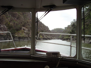 FERRY VIEW OF THE CATARACT GORGE