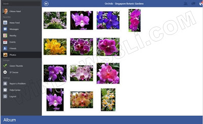 Windows 8 Facebook Uygulaması