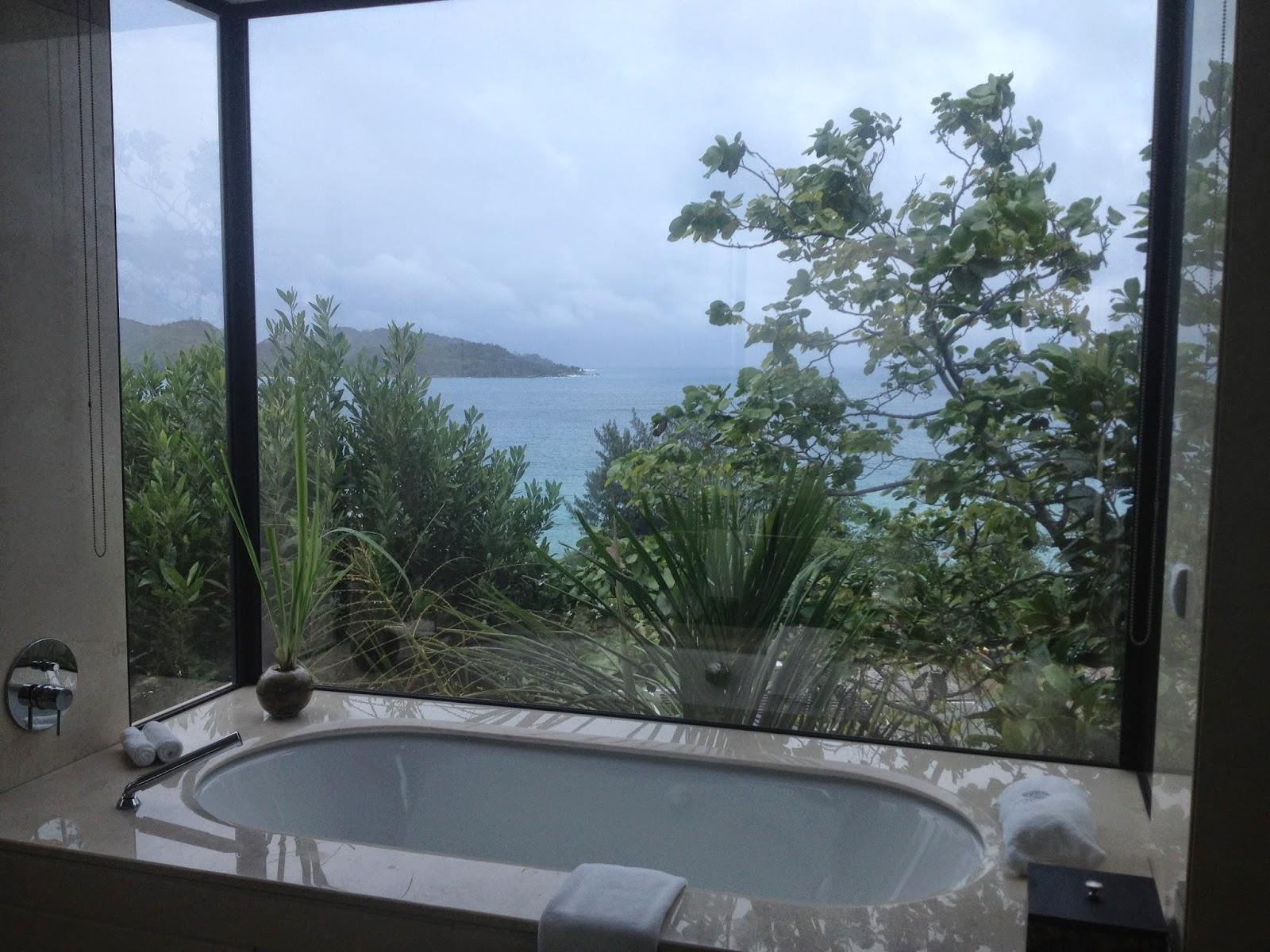 view in villa praslin, raffles seychelles