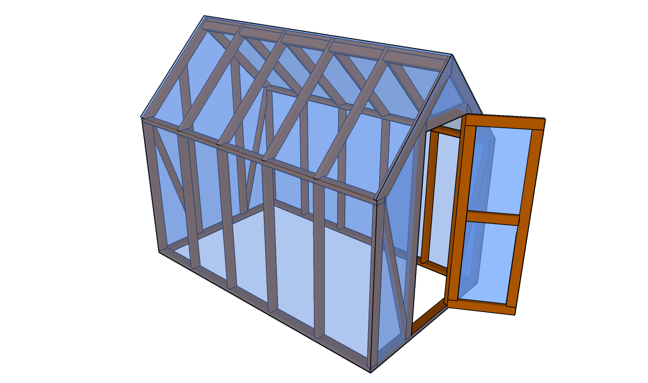Lean to greenhouse plans for Build a house online free