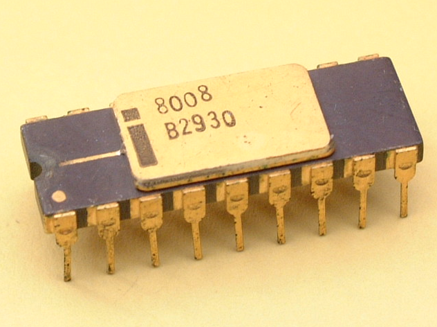 Intel 8008 Microprocessor