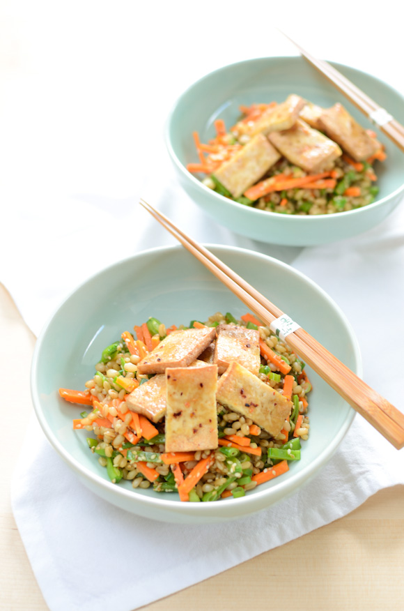 Permalink to Calcium Inwards A Vegan Diet + Marinated Baked Tofu As Well As Wheat Berry Salad