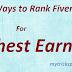 7 Secret Ways to Rank Fiverr Gigs For Highest Earning