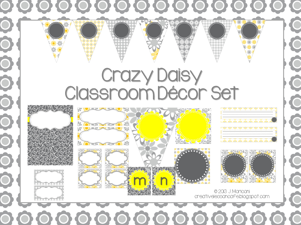 Classroom Decor Sets ~ Creative lesson cafe summer lovin sale classroom decor sets