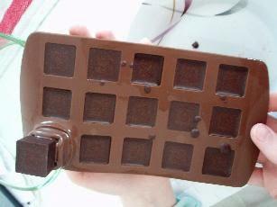 Schokoladenform aus Silikon