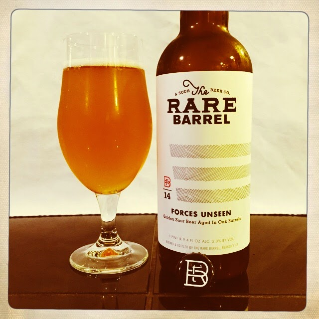 NorCal Beer Blog: The Rare Barrel Forces Unseen - Golden ...