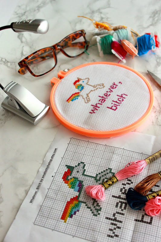 Cross Stitching 101, how to cross stitch,