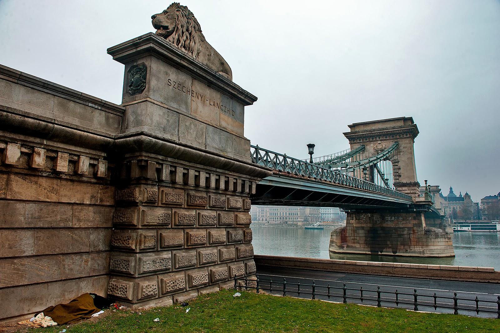 Budapest, Hungary, Chain Bridge, Danube
