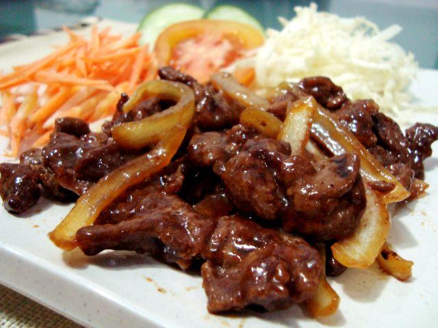 resep membuat daging beef teriyaki mudah enak beef teriyaki adalah ...