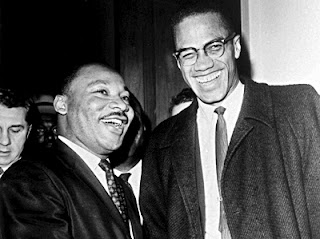 Martin Luther King & Malcolm X meeting