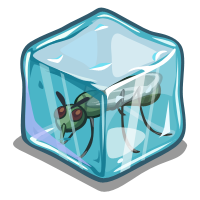 FarmVille Fake Insect Ice Cubes